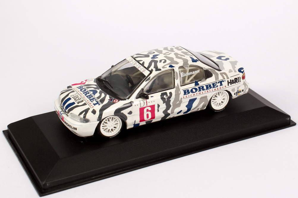 "1:43 Ford Mondeo Stufenheck ADAC TW-Cup 1994 ""Eggenberger Motorsport, Borbet"" Nr.6, Eichmann (Ls)"