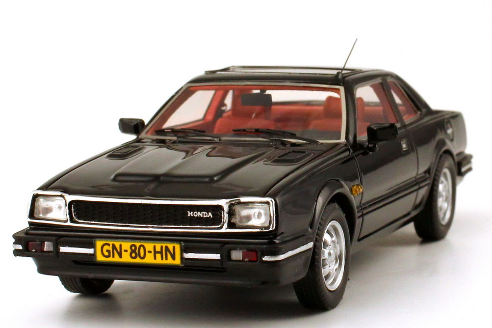 1 43 honda prelude mk i 1981 schwarz black neo scale models 43482 ebay. Black Bedroom Furniture Sets. Home Design Ideas