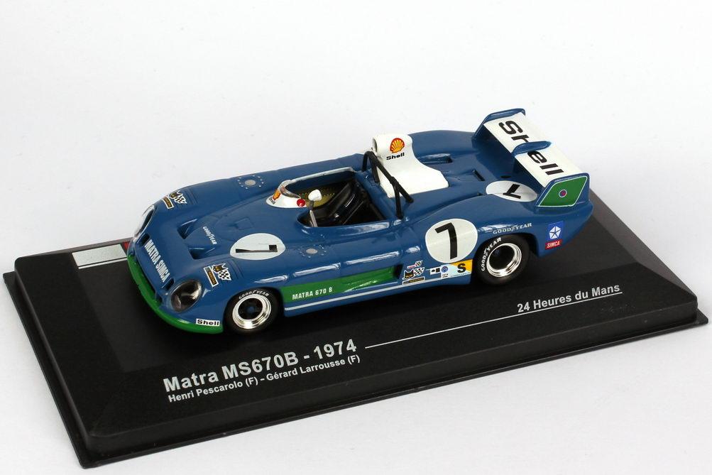 1:43 Matra Simca MS 670B 24h von Le Mans 1974
