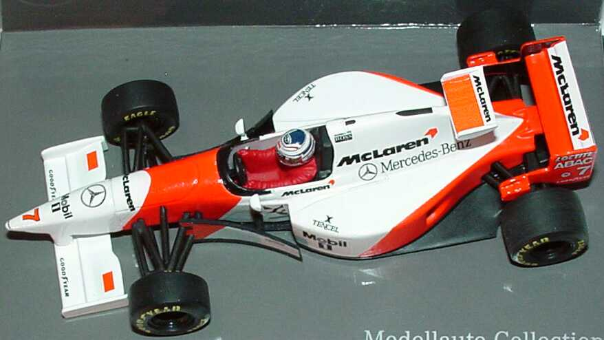 mclaren mercedes mp4 10 formel 1 1995 nr 7 nigel mansell. Black Bedroom Furniture Sets. Home Design Ideas