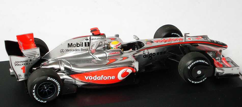mclaren mercedes mp 4 24 formel 1 2009 vodafone nr 1. Black Bedroom Furniture Sets. Home Design Ideas