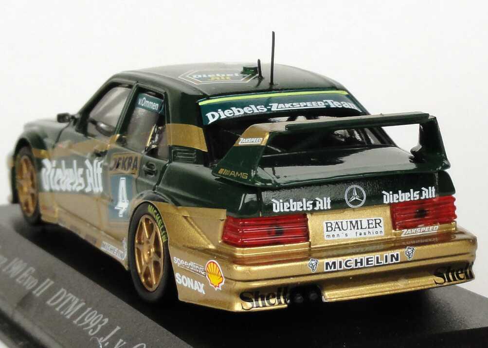 Mercedes benz 190e 2 5 16 evolution ii dtm 1993 zakspeed for Aw auto ommen