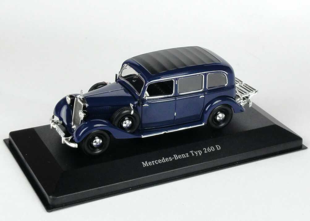 1:43 Mercedes-Benz 260 D (W138) blau (MB) (Ls)