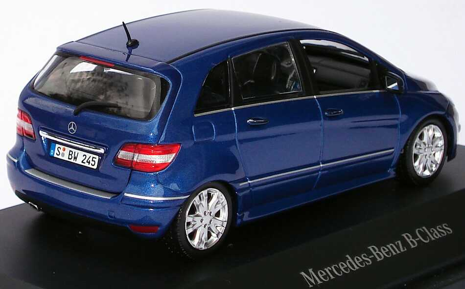 mercedes benz b klasse facelift 2008 w245 lotusblau met. Black Bedroom Furniture Sets. Home Design Ideas