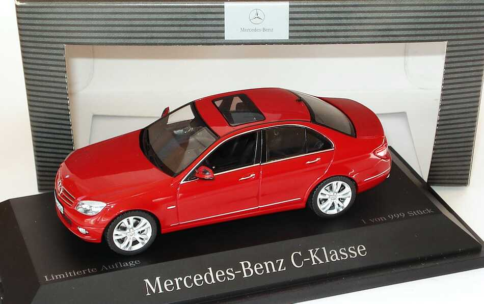 1 43 mercedes benz c klasse avantgarde w204 feueropalrot. Black Bedroom Furniture Sets. Home Design Ideas
