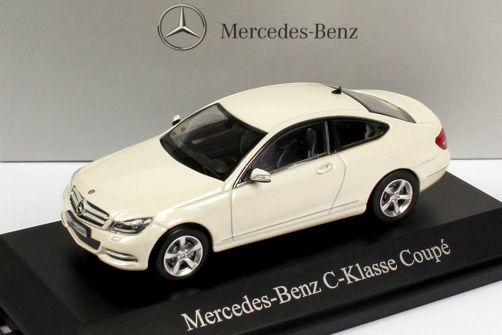 1:43 Mercedes-Benz C-Klasse Coupé (C204) diamant-weiß-met. (MB)