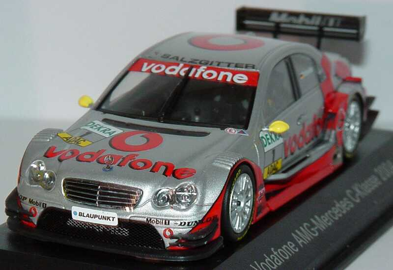 mercedes benz c klasse dtm 2004 vodafone nr 1 schneider. Black Bedroom Furniture Sets. Home Design Ideas