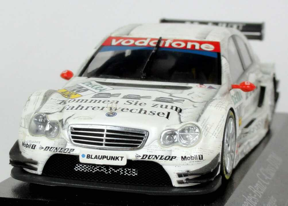mercedes benz c klasse dtm 2005 persson junge gebrauchte bruno spengler minichamps. Black Bedroom Furniture Sets. Home Design Ideas