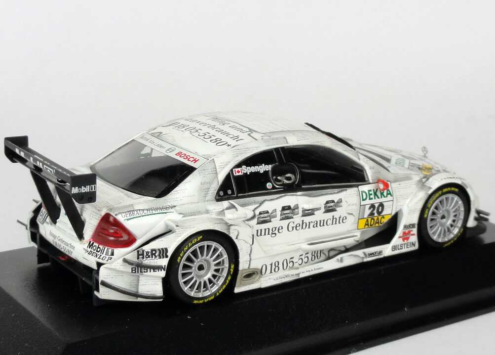 1 43 mercedes c klasse dtm 2005 persson junge gebrauchte nr 20 bruno spengler. Black Bedroom Furniture Sets. Home Design Ideas
