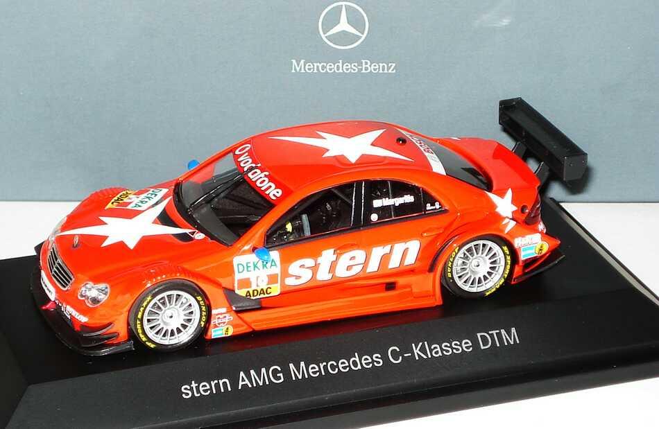 "1:43 Mercedes-Benz C-Klasse (W203) DTM 2007 ""Stern"" Nr.10, Alexandros Margaritis (MB)"
