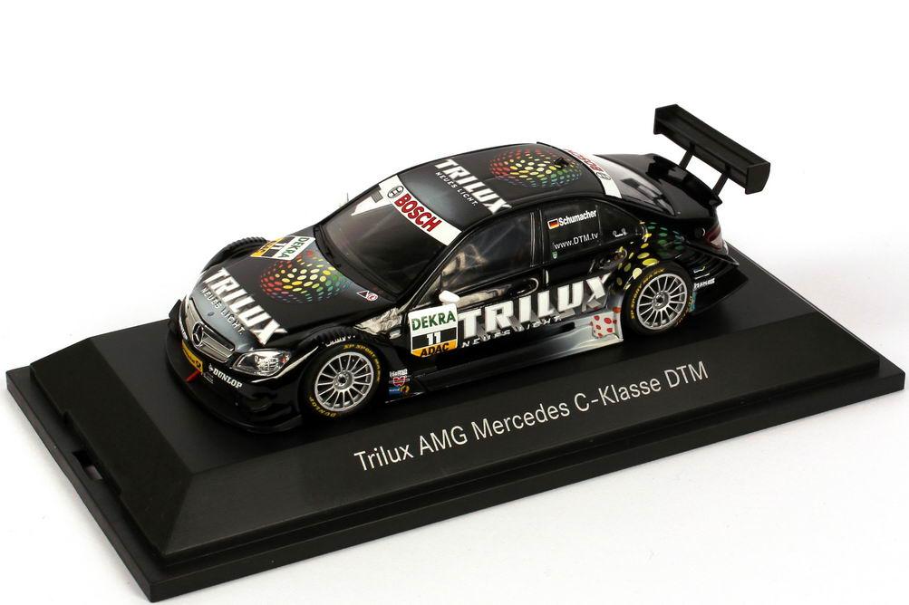 "1:43 Mercedes-Benz C-Klasse (W204) DTM 2008 ""Trilux, AMG"" Nr.11, Schumacher (MB)"
