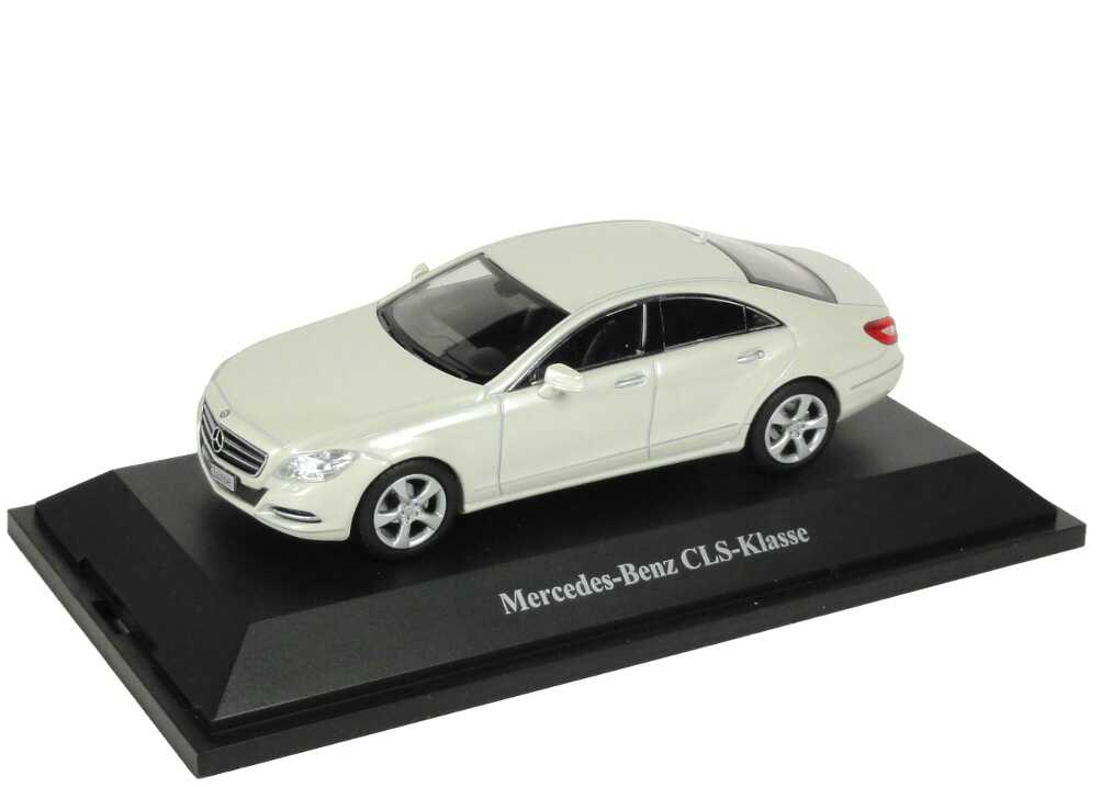 1:43 Mercedes-Benz CLS (C218) diamantweiß-met. (MB)