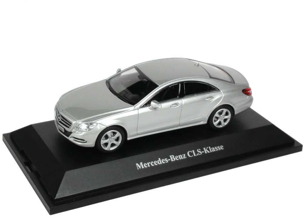 1:43 Mercedes-Benz CLS (C218) iridiumsilber-met. (MB)
