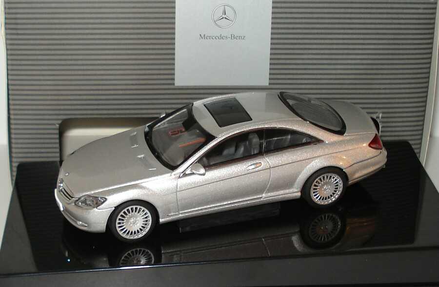 1:43 Mercedes-Benz CL Coupé (C216) iridiumsilber-met. (MB) (Ls)