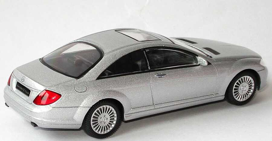 Mercedes benz cl coup c216 silber met mondo motors 53 for M i motors