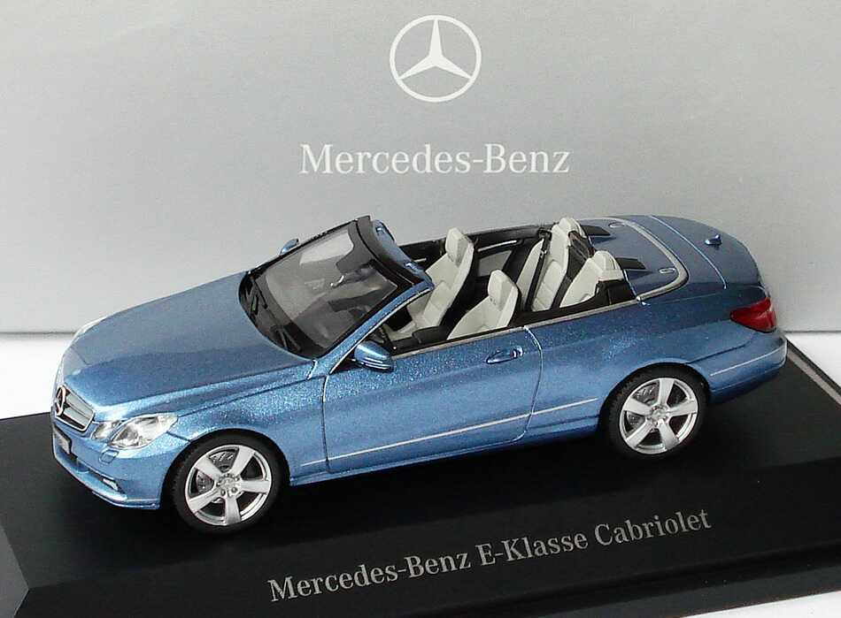 mercedes benz e klasse cabrio a207 indigolithblau met. Black Bedroom Furniture Sets. Home Design Ideas