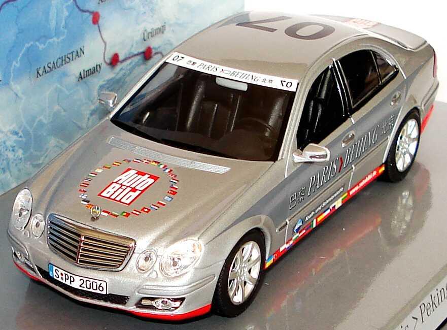 Mercedes benz e klasse facelift w211 rallye paris peking for Rallye mercedes benz