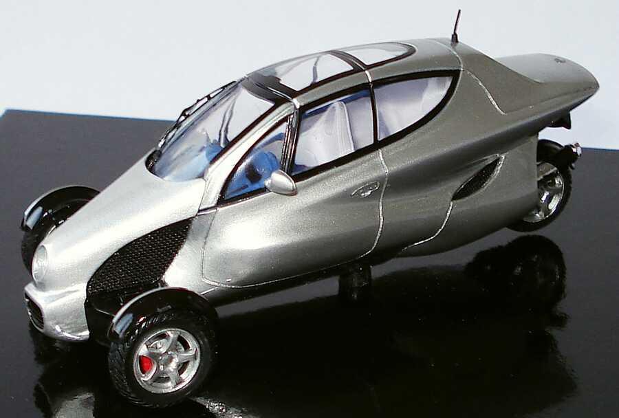 Mercedes benz f 300 life jet silber met werbemodell spark for Mercedes benz battery life