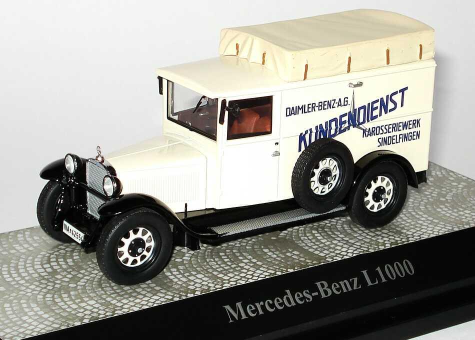 1 43 mercedes benz l1000 kastenwagen daimler benz a g. Black Bedroom Furniture Sets. Home Design Ideas