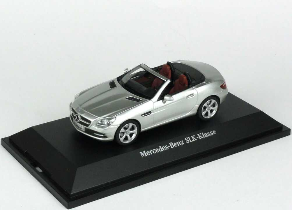 1:43 Mercedes-Benz SLK (R172) iridiumsilber-met. (MB)