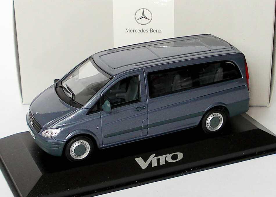 43 Mercedes-Benz Vito II Bus 115 CDI luganograu-met. Werbemodell ... Mercedes Vito