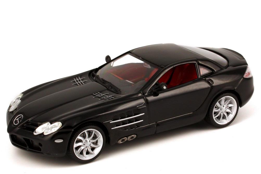 1:43 Mercedes-Benz SLR McLaren schwarz (oV)