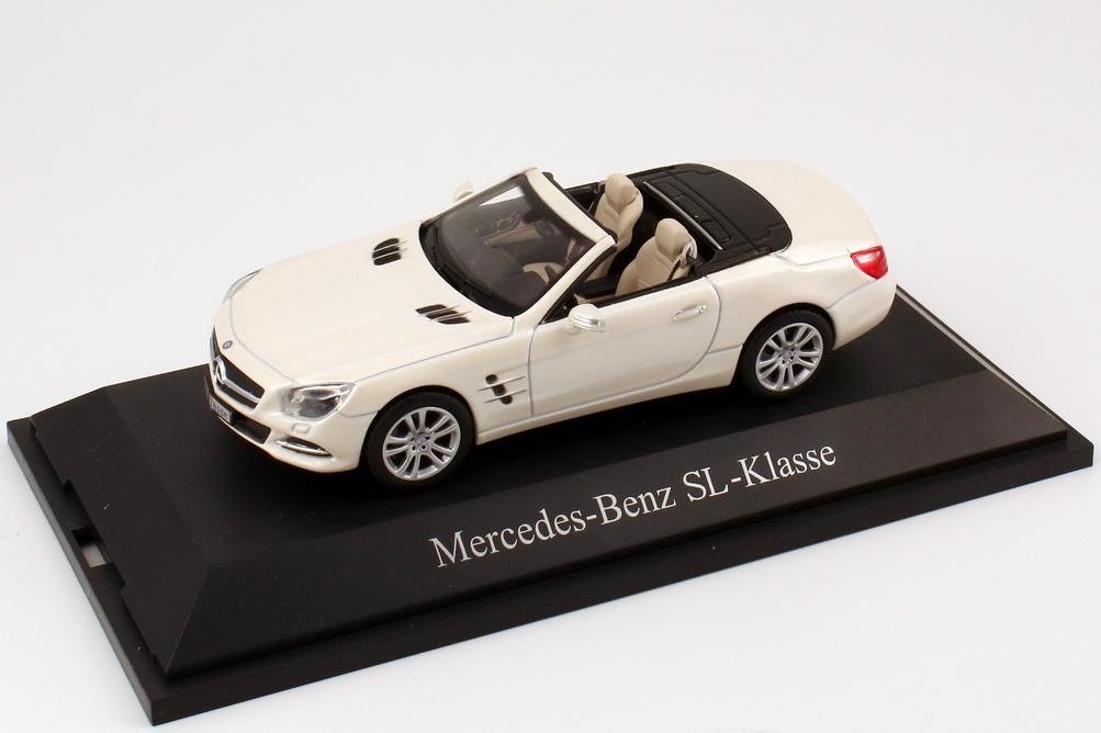 1:43 Mercedes-Benz SL-Klasse 2012 (R231) diamant-weiß-met. bright (MB)