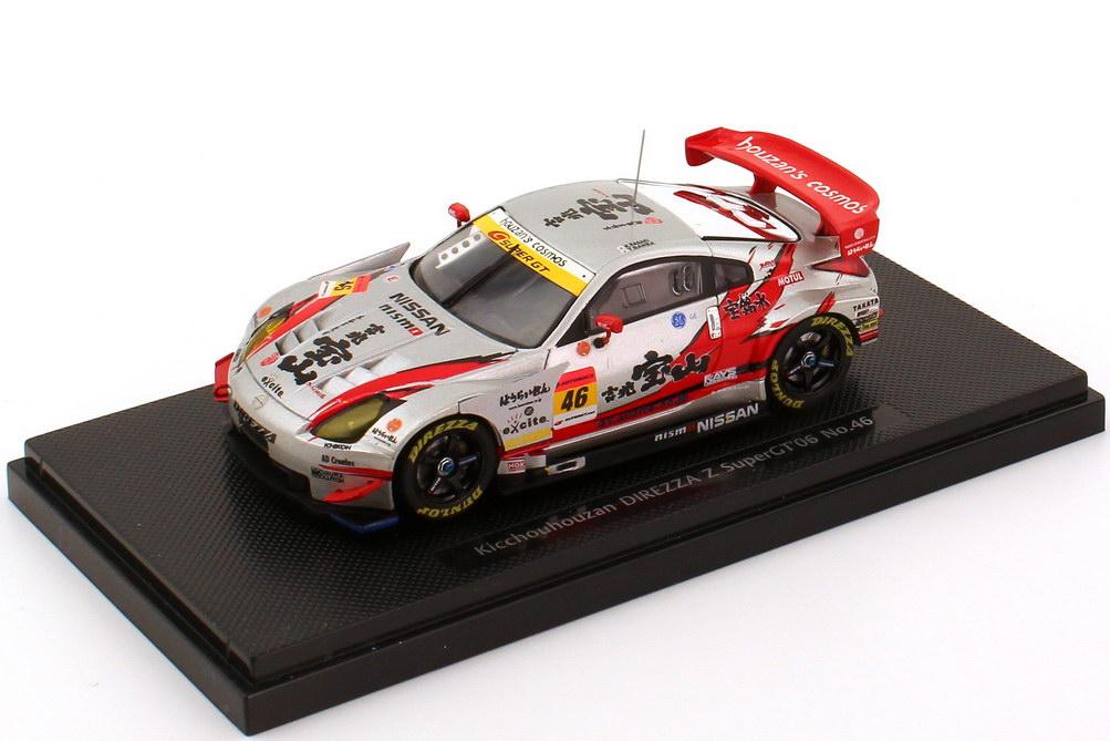 """1:43 Nissan Fairlady Z / 350Z (Z33) Super GT 2006 """"Direzza, Kiccho Houzan"""" Nr.46, Sasaki / Banba"""