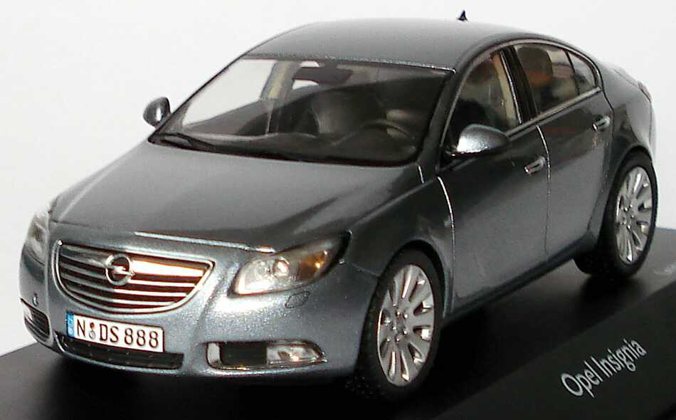 1 43 opel insignia limousine silbersee grau grey schuco 07262 limited ed 1500 ebay. Black Bedroom Furniture Sets. Home Design Ideas