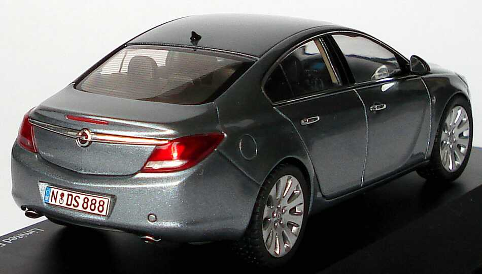 1 43 opel insignia limousine silbersee grau grey schuco. Black Bedroom Furniture Sets. Home Design Ideas