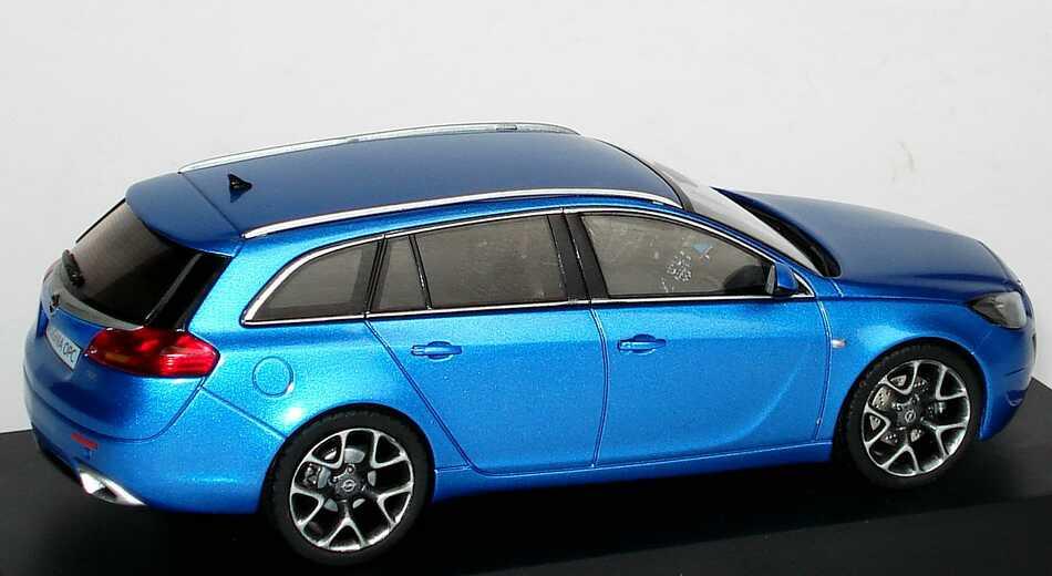 1 43 opel insignia opc sports tourer ardenblau blau ebay. Black Bedroom Furniture Sets. Home Design Ideas