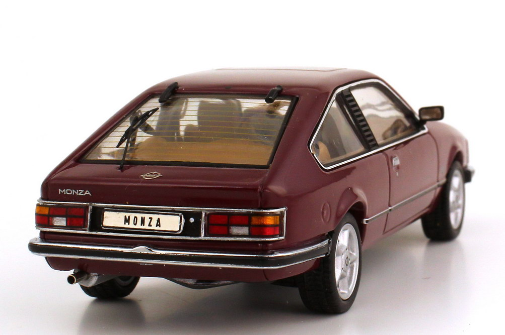 1 43 opel monza a royalrot rot red limited 1000 pcs. Black Bedroom Furniture Sets. Home Design Ideas