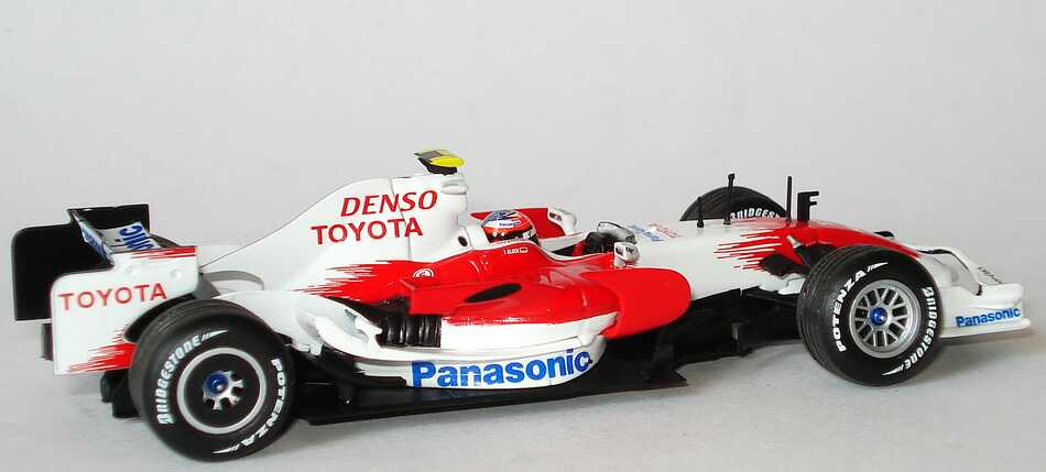 panasonic toyota racing tf108 formel 1 2008 timo. Black Bedroom Furniture Sets. Home Design Ideas