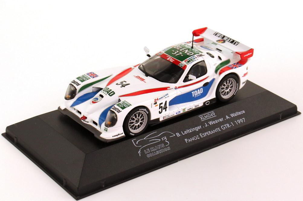 "1:43 Panoz Esperante GTR-1 24h von Le Mans 1997 ""Nescafé, TOAD"" Nr.54, Leitzinger / Weaver / Wallace"