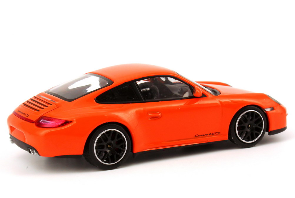 porsche 911 carrera 4 gts 997 modell 2011 pastell orange werbemodell minichamps wap0201140c. Black Bedroom Furniture Sets. Home Design Ideas