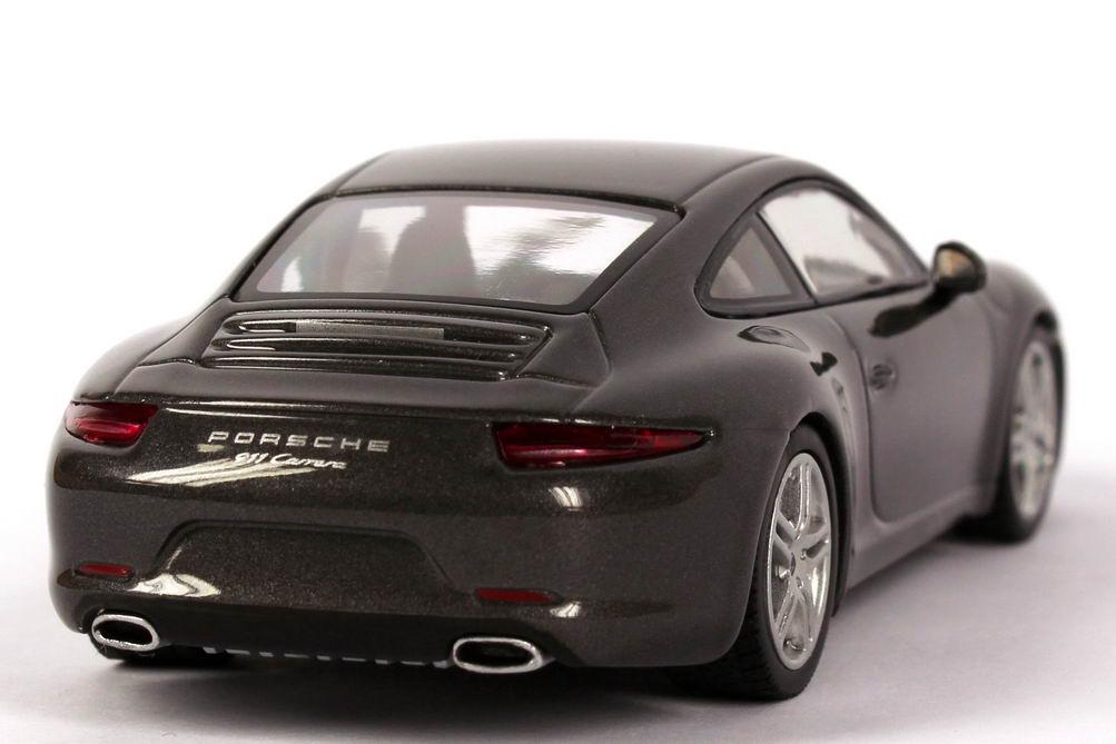 1 43 porsche 911 carrera 2011 typ 991 achat grau grey dealer edition minichamps ebay. Black Bedroom Furniture Sets. Home Design Ideas