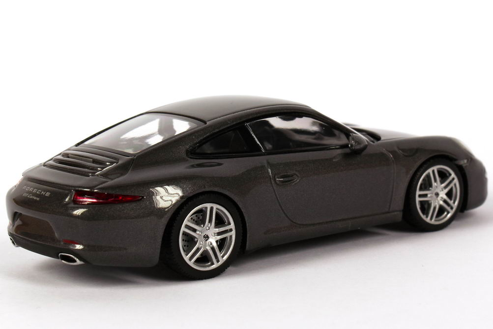 porsche 911 carrera 991 achat grau met werbemodell minichamps wap0200100c bild 7. Black Bedroom Furniture Sets. Home Design Ideas