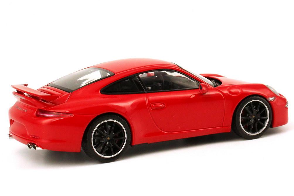 Porsche 911 Carrera S Aerokit Cup 991 Rot Werbemodell