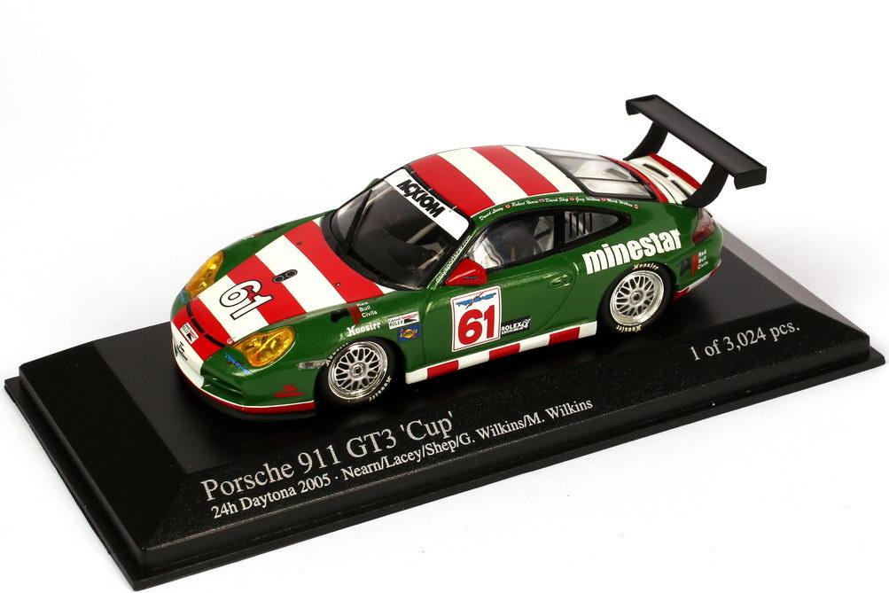 1:43 Porsche 911 GT3 Cup (996) 24h Daytona 2005