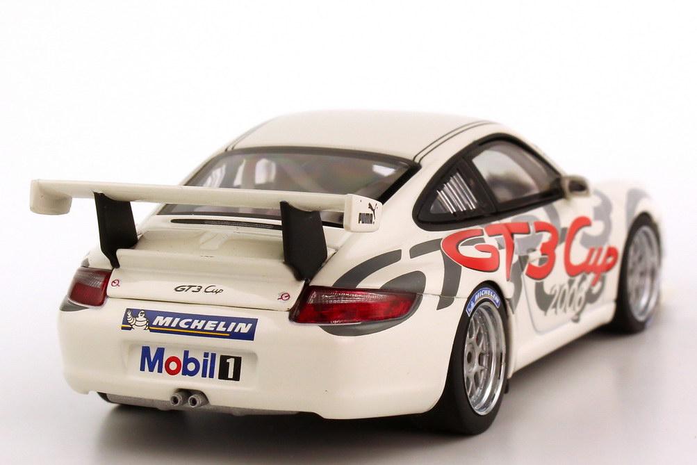 Foto 1:43 Porsche 911 GT3 Cup (997) Carrera Cup 2006 Deutschland, Präsentationsmodell AUTOart 60672