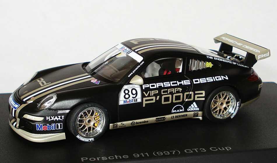Foto 1:43 Porsche 911 GT3 Cup (997) Cup Car 2007 Porsche Design, VIP Car P0002 Nr.89 AUTOart 60770