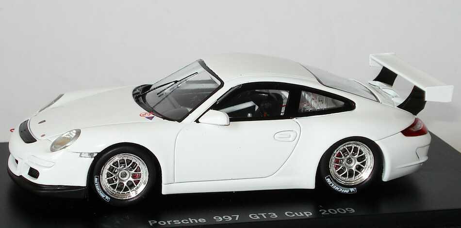 porsche 911 gt3 cup 997 modell 2009 plain body wei. Black Bedroom Furniture Sets. Home Design Ideas