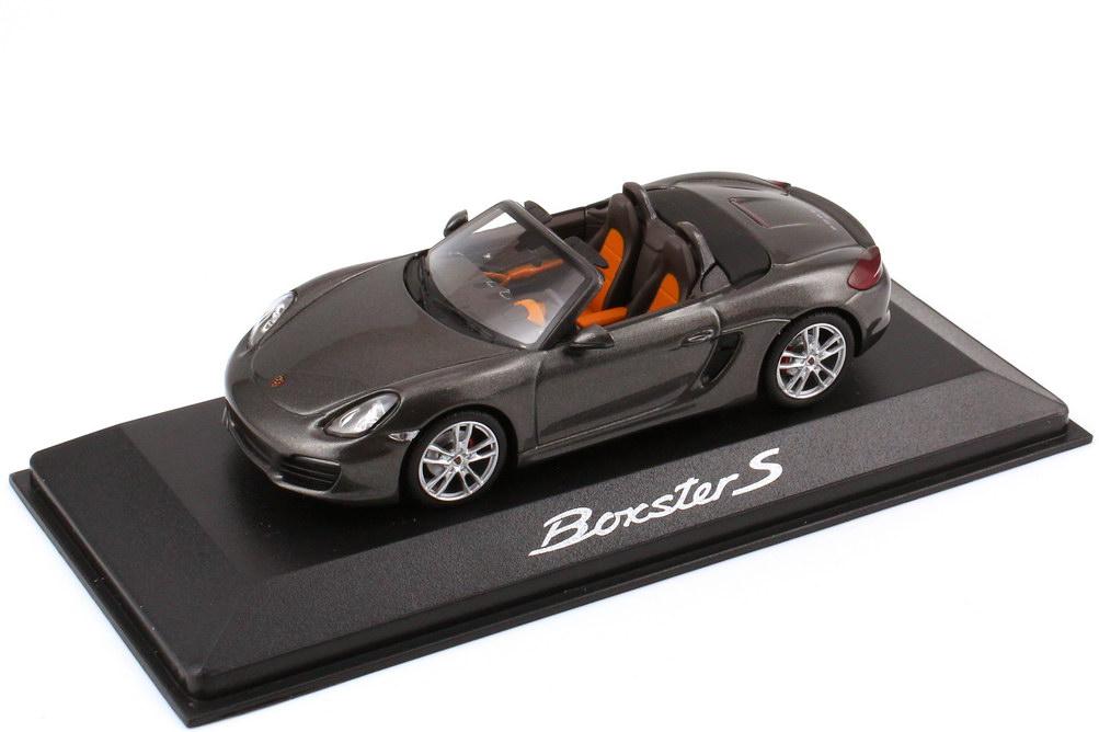 1:43 Porsche Boxster S (Typ 981, Modell 2012) achat-grau-met. (Porsche)