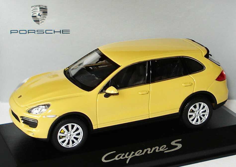 1:43 Porsche Cayenne S 2010 sandgelb (Porsche)