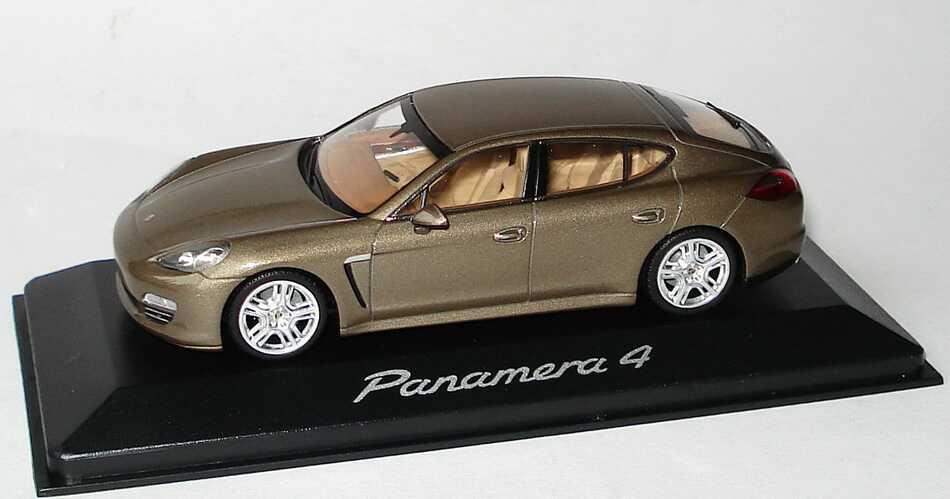 1:43 Porsche Panamera 4 topasbraunmet. (Porsche)