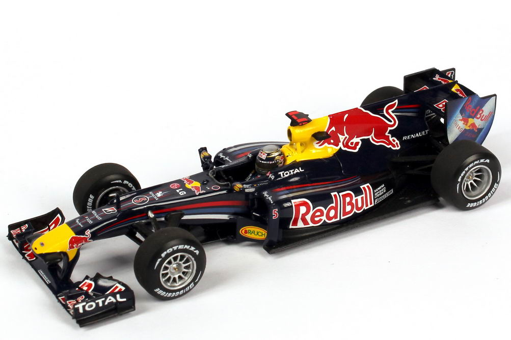 1 43 red bull racing renault rb6 formel 1 2010 nr 5 sebastian vettel minichamps. Black Bedroom Furniture Sets. Home Design Ideas