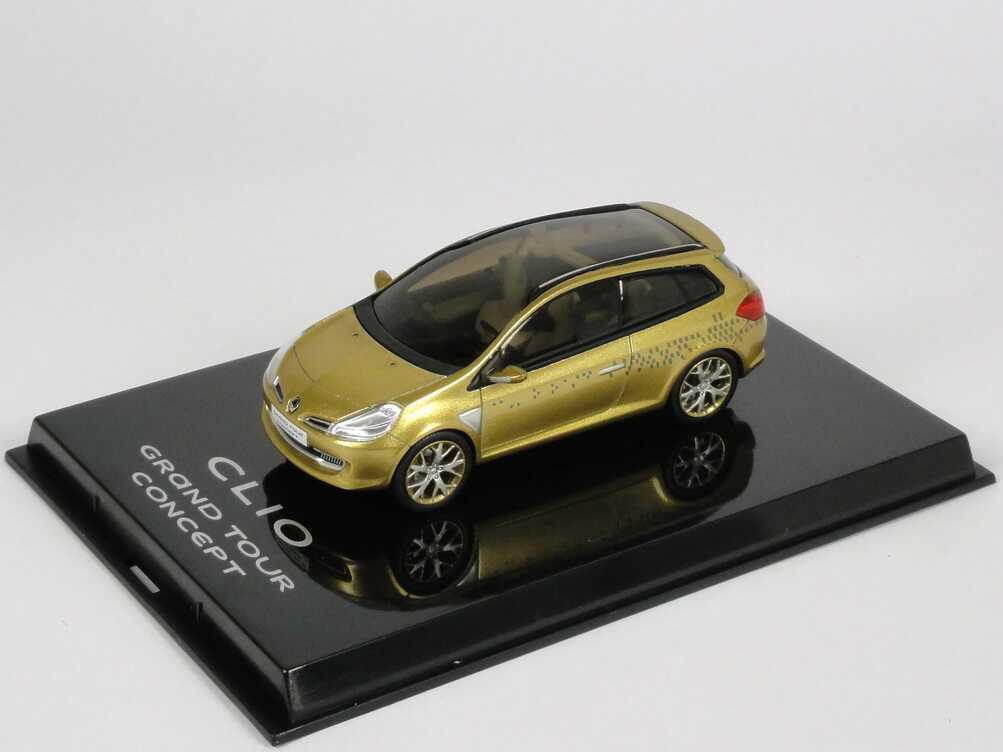 Renault Clio Grand Tour Concept Gold Met Autosalon Genf 2007