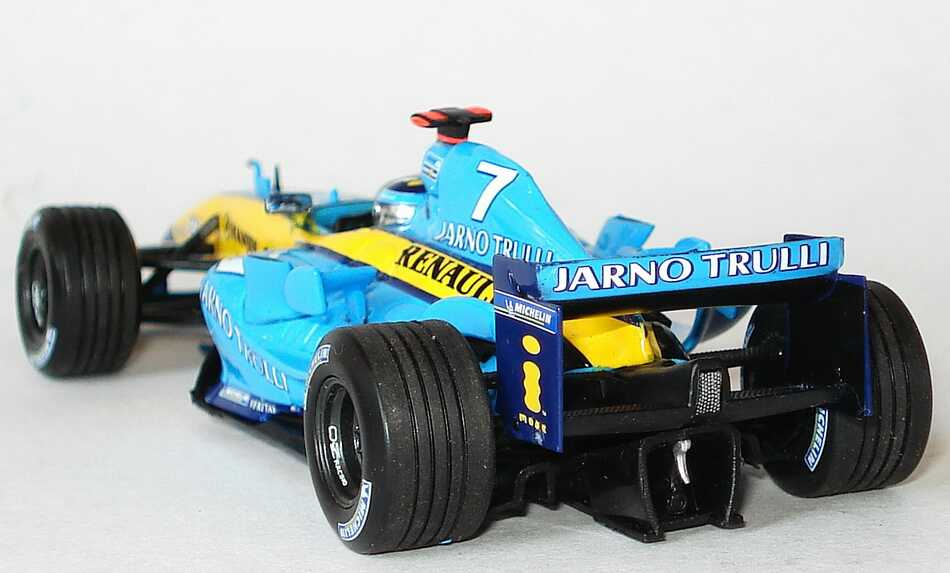 renault f1 team r24 formel 1 2004 nr 7 jarno trulli. Black Bedroom Furniture Sets. Home Design Ideas