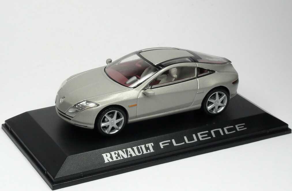 1:43 Renault Fluence Concept graumet. (Mondial de l´Automobile 2004) (oV)