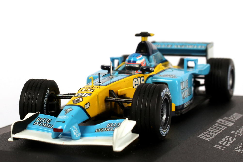 1 43 renault f1 rs22 formel 1 2002 jenson button. Black Bedroom Furniture Sets. Home Design Ideas